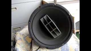 Jensen Coaxial 2 Way High Fidelity speaker system