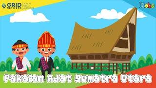 Pakaian Adat Sumatra Utara - Seri Budaya Indonesia