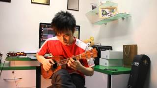 "妖精的尾巴 Fairy Tail - Main Theme ""Ukulele"" (Steven Law)"