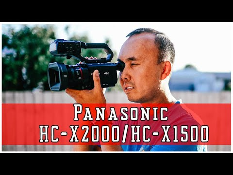 Camcorder In 2020, Still Relevant? Panasonic HC-X2000/HC-X1500 Review