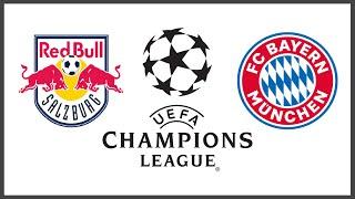 Ред Булл Зальцбург Бавария 2 5 обзор матча голы смотреть онлайн прямой эфир прямая трансляция