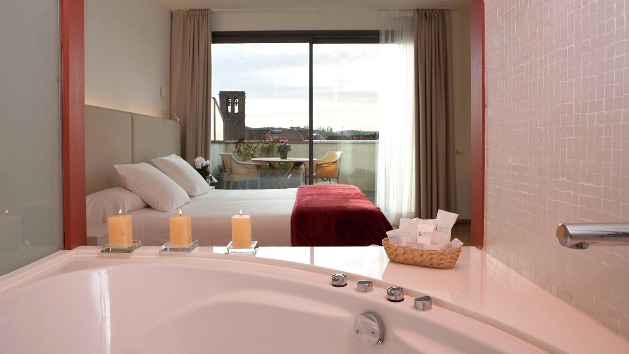 Habitacin Acqua con baera de hidromasaje Hotel Balneari