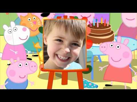 Мультфильм с участием ребенка день рождения ребенка