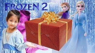 Seoeun's Princess Elsa Dress of the Frozen 2