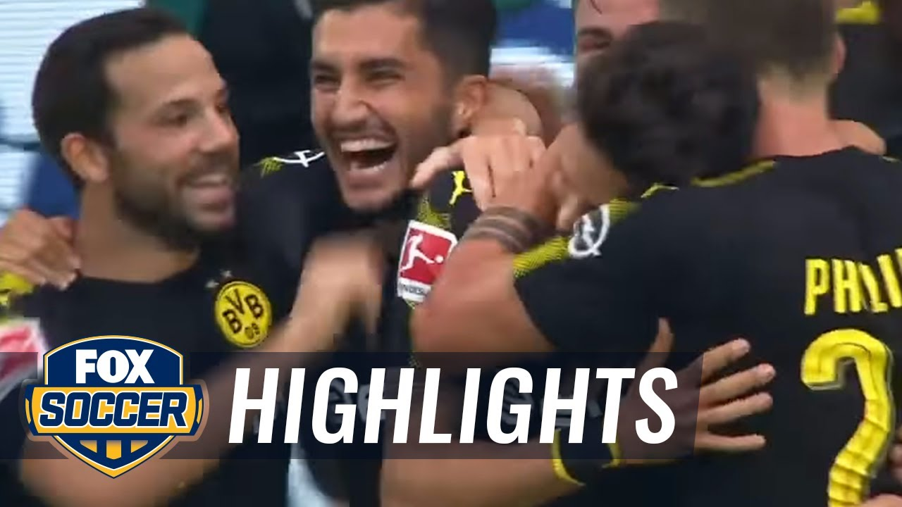 Download Marc Bartra's great goal doubles Dortmund's lead vs. Wolfsburg   2017-18 Bundesliga Highlights