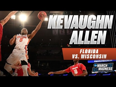 Wisconsin vs. Florida: KeVaughn Allen scores game-high 35 points