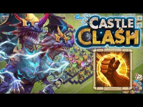 Castle Clash: Demogorgon 11/11 Brute Force 8 INSANE Damage Gameplay!