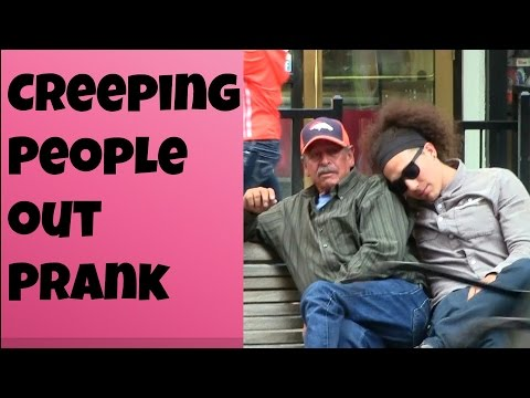 Creeping People Out Prank!