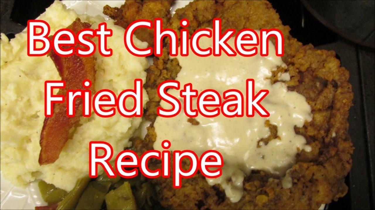 how to cook chicken fried steak