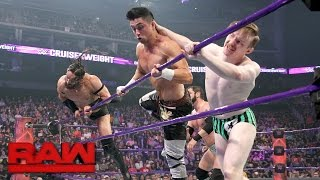 Austin Aries & Gentleman Jack Gallagher vs. Neville & TJ Perkins: Raw, April 24, 2017