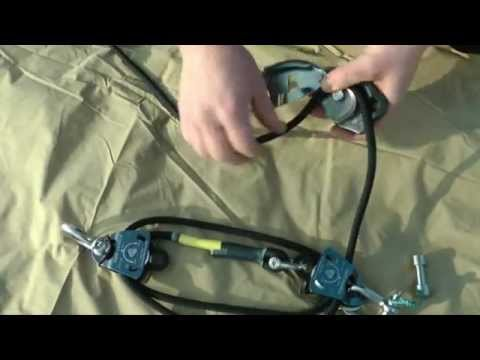 Landcruising Slackline Kit Ninja Part 1 - Assembly Of Pulley System