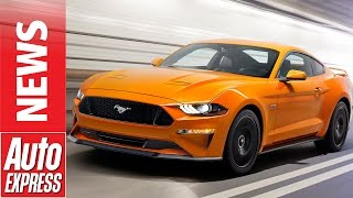 New 2018 Ford Mustang revealed: facelifted bruiser adds more muscle