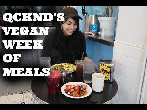 Qcknd's Vegan Week of Meals