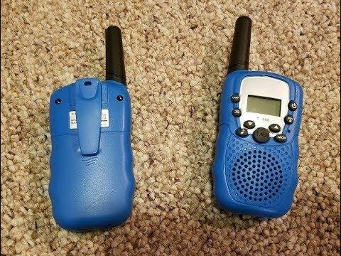 Upgrow Kids Walkie Talkies, 22 Channel, Two Way Radios