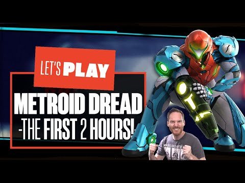 Let's Play Metroid Dread gameplay - I NEED TO PUT A PUN HERE BUT ARAN OUT OF IDEAS