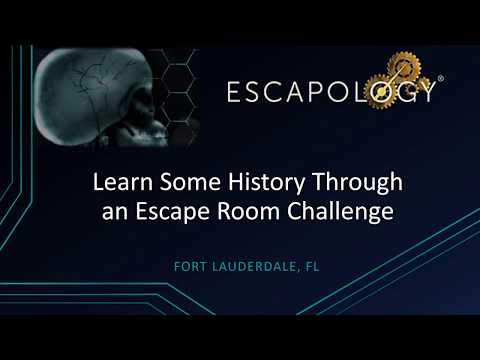 Experience History through an Escape Room Challenge | Escapology | Fort Lauderdale, FL