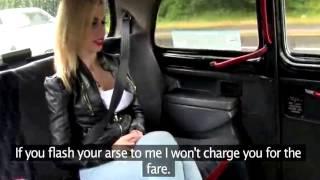 Česká falešný taxi koketní dívky mluví o penězích - 1 /121- Lalexin - english subtitle