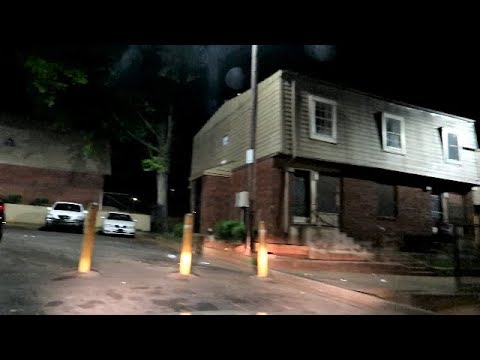 ATLANTA'S WORST HOODS AT NIGHT