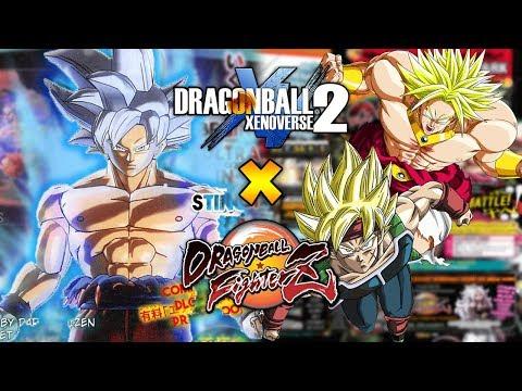 PERFECTED ULTRA INSTINCT! DLC PACK 6! BROLY & BARDOCK DLC PACK 1 - Dragon Ball Xenoverse 2