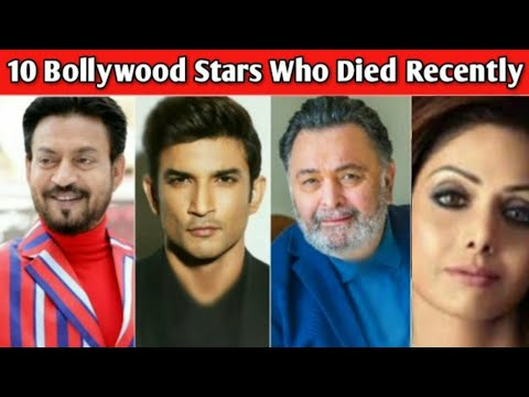 Download 10 Famous Bollywood Stars Who Died Recently | Sushant Singh Rajput | Death Indian Celebrities 2020