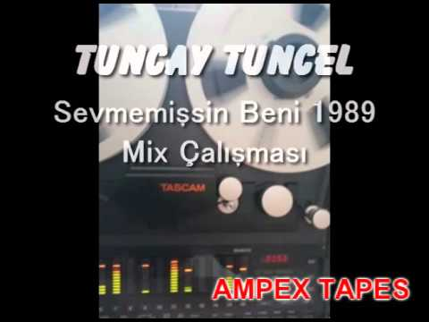 Tuncay Tuncel -  Sevmemişsin Beni 1989 (Canlı Mix Çalışması)