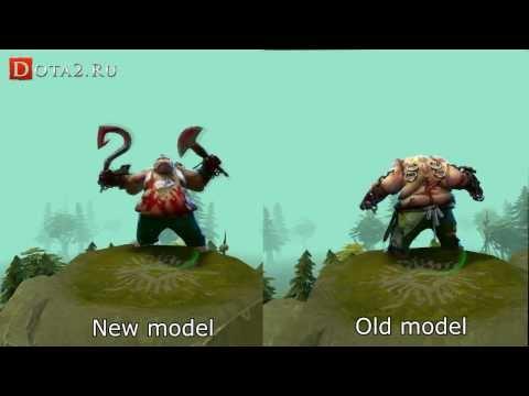 видео: Изменение моделей героев в dota 2 [22 november update]