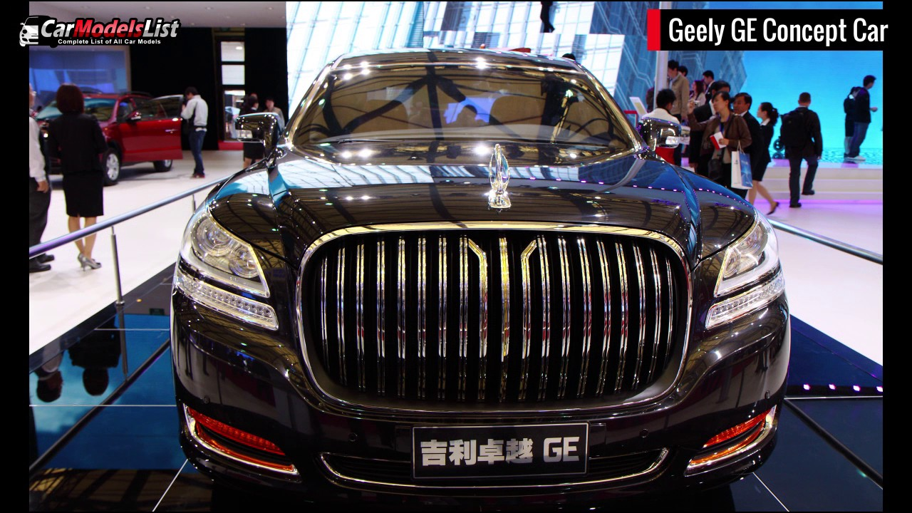 All Geely Models | Full list of Geely Car Models & Vehicles - YouTube