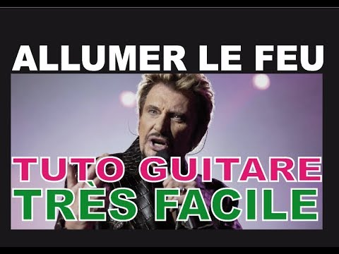 tuto comment jouer allumer le feu la guitare lectrique jonhnny hallyday youtube. Black Bedroom Furniture Sets. Home Design Ideas