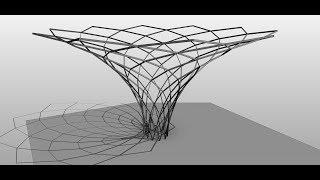 Revit формообразующие. Урок по созданию гиперболоида.