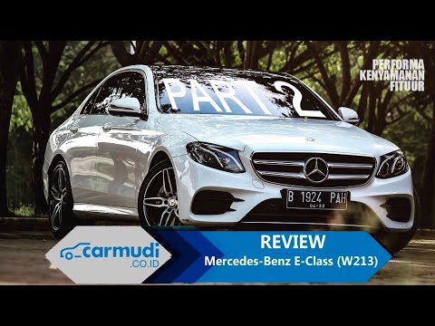 REVIEW Mercedes-Benz E-Class (W213) 2016 Indonesia: Tanpa Air-Sus, Tak Masalah! (PART 2 Dari 2)