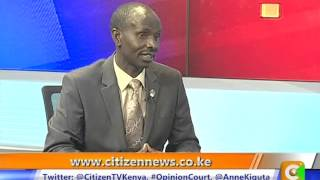 Live @ 9 Interview with Wilson Sossion