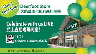 T&T Deerfoot Meadow Store Grand Opening Ceremony
