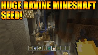 ★Minecraft Xbox 360 + PS3: TU27 Seed Showcase - The Biggest Surface Ravine With A Mineshaft & More!★