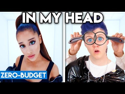 ARIANA GRANDE WITH ZERO BUDGET In My Head