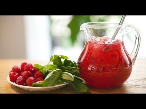 Вкусный летний напиток/ Малиново-земляничный лимонад