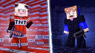 PRO TNT VS. NOOB OBSIDIAN!