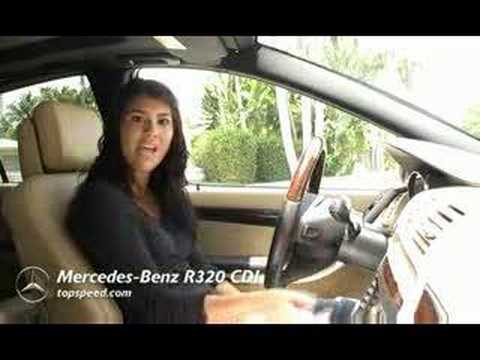 Mercedes Benz R320 CDI - TopSpeed review