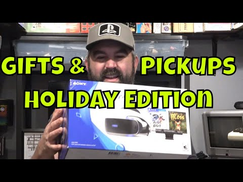 My Crazy Video Game Gifts & Pickups Holiday Edition
