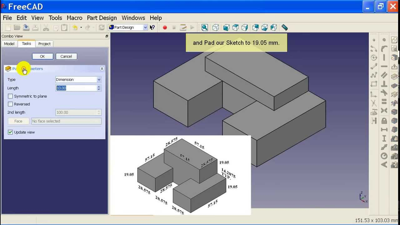 04 FreeCAD Part Design Workbench Tutorial