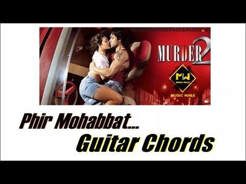Dil Sambhal Ja Zara Guitar Chords Lesson | Phir Mohabbat | Murder 2 | Emraan Hashmi | Music Wale