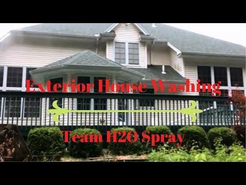 Team H2O Spray Low Pressure House Washing Lambertville,MI