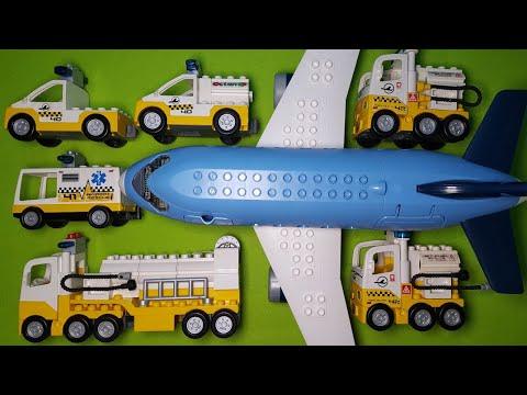 LEGO DUPLO JUMBO JET AIRPORT & SPECIAL VEHICLES / 레고 듀플로 점보 제트기 공항과 특수차향들