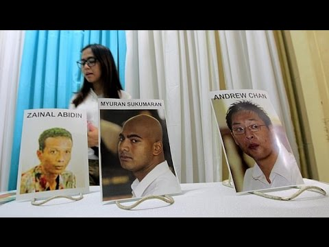 Bodies of Australians executed in Indonesia arrive home