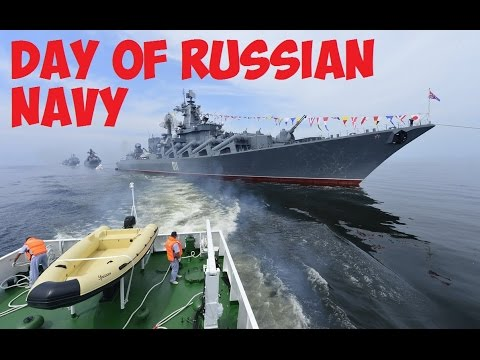 The strength and power of the Russian naval fleet.