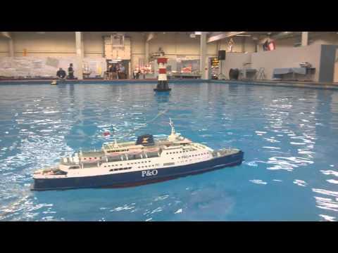 r/c model of car ferry Free Enterprise V