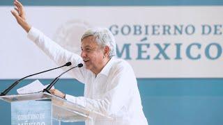 'Programas Integrales de Bienestar' en Champotón, Campeche, y anuncio de rescate de selva