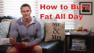 Burn Fat All Day with 15 Minutes of Cardio- Thomas DeLauer