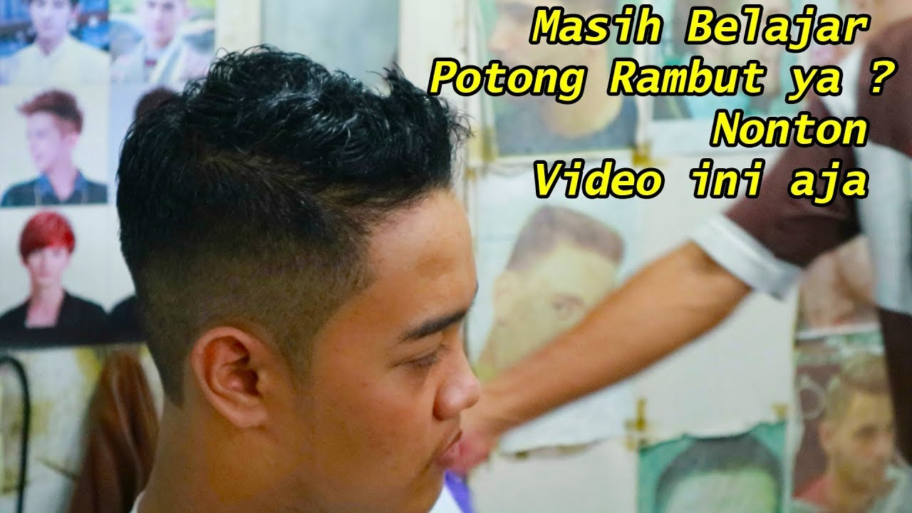 GAYA RAMBUT Cowok MASA KINI - YouTube