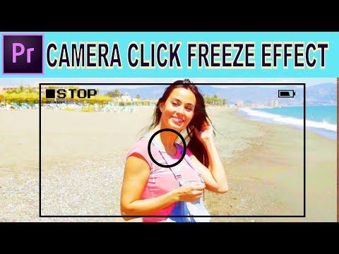 Camera Snapshot Freeze Frame Effect - Adobe Premiere Pro Tutorial thumbnail