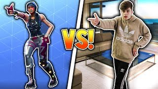 kid does fortnite dances in real life... (Fortnite Dances VS Real Life) Fortnite Battle Royale